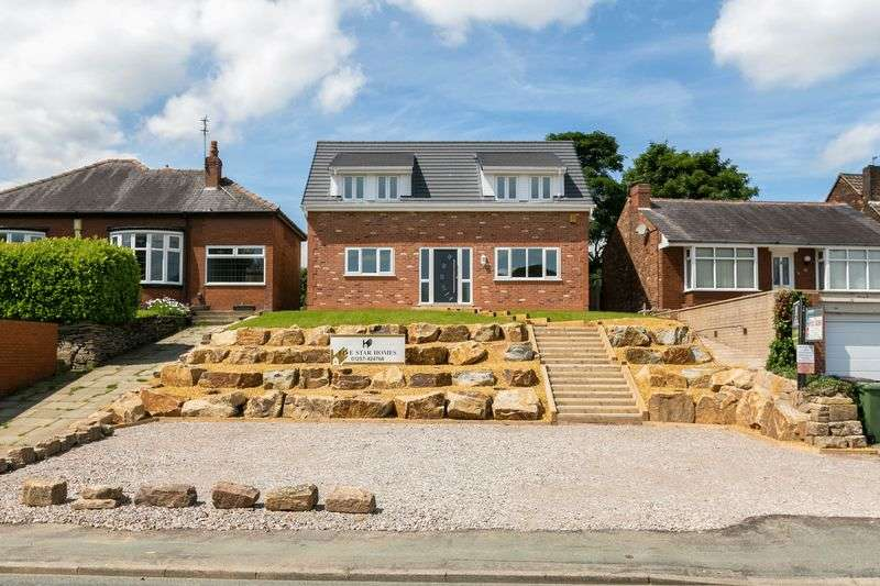 4 Bedrooms Detached House for sale in Chorley Road, Standish, WN1 2TE