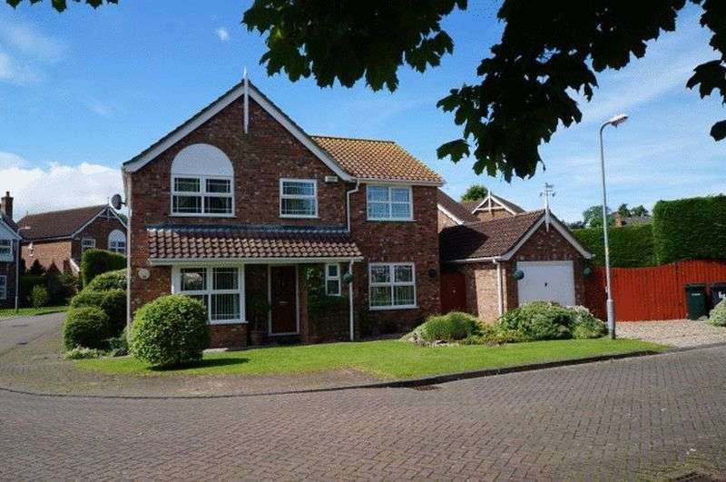 4 Bedrooms Detached House for sale in Granary Way, Horncastle