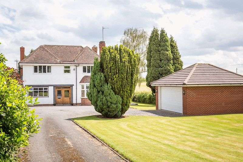 4 Bedrooms Detached House for sale in Nr Ombersley, Worcestershire