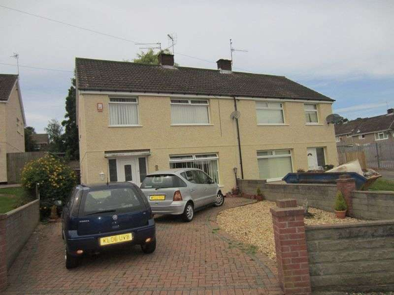3 Bedrooms Semi Detached House for sale in Menai Way Rumney Cardiff CF3 1RG