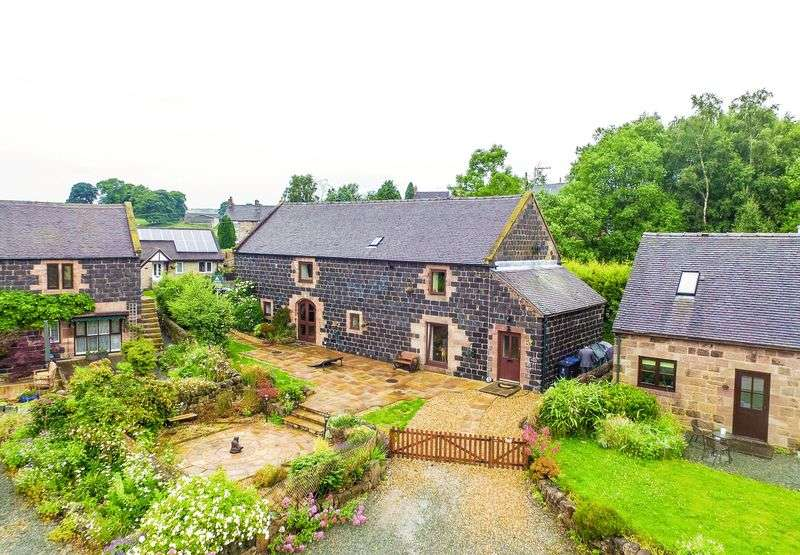 4 Bedrooms Detached House for sale in Shires Barn Black Lane Whiston, Staffordshire