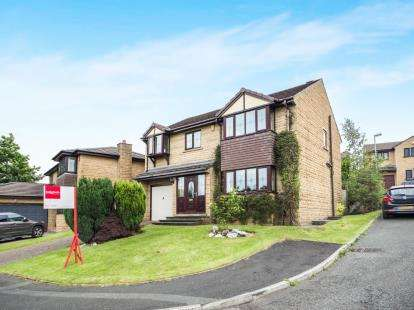 4 Bedrooms Detached House for sale in Stainton Drive, Burnley, Lancashire