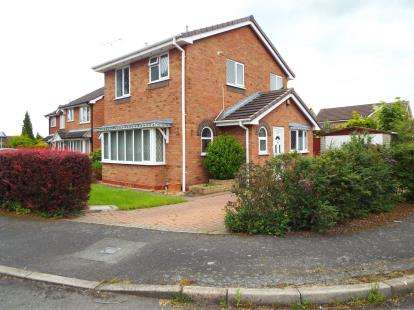 3 Bedrooms Detached House for sale in Tollemache Drive, Crewe, Cheshire