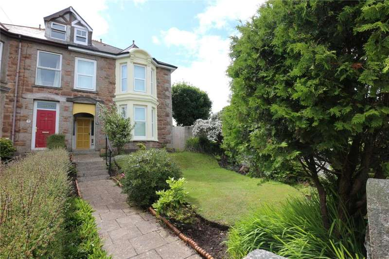 4 Bedrooms Semi Detached House for sale in Redbrooke Road, Camborne, Cornwall