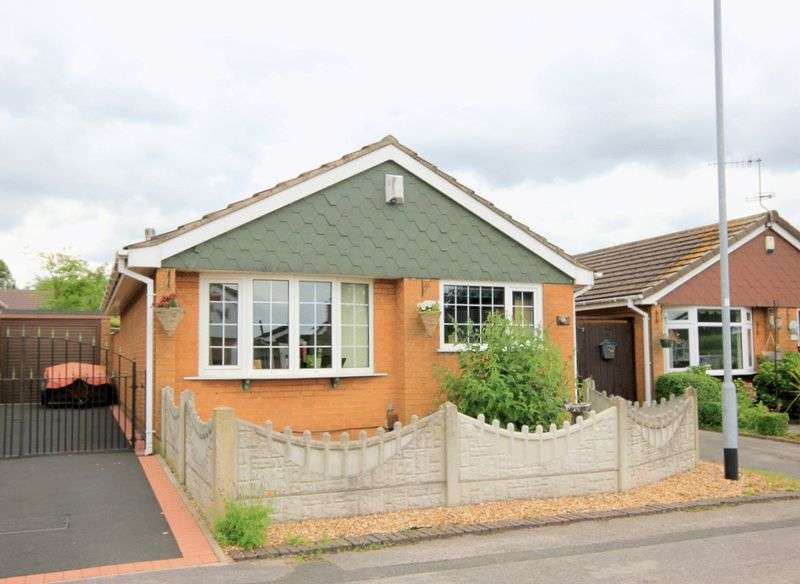 2 Bedrooms Detached Bungalow for sale in Byatts Grove, Stoke-On-Trent