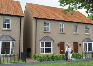 3 Bedrooms Semi Detached House for sale in Willoughby Road, Alford, Lincolnshire