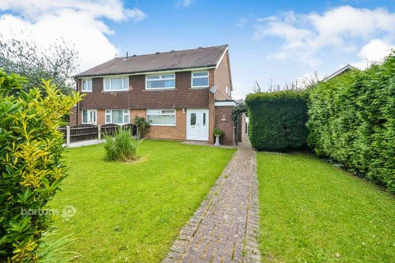 3 Bedrooms Semi Detached House for sale in Lapwater Road, Rockingham, Rotherham