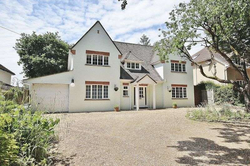 4 Bedrooms Detached House for sale in 94 Hinton Wood Avenue, Highcliffe, Christchurch, Dorset, BH23 5AL