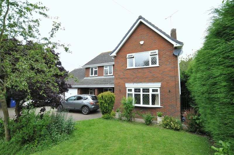 4 Bedrooms Detached House for sale in ASHGROVE, GREEN LANE, TUTBURY