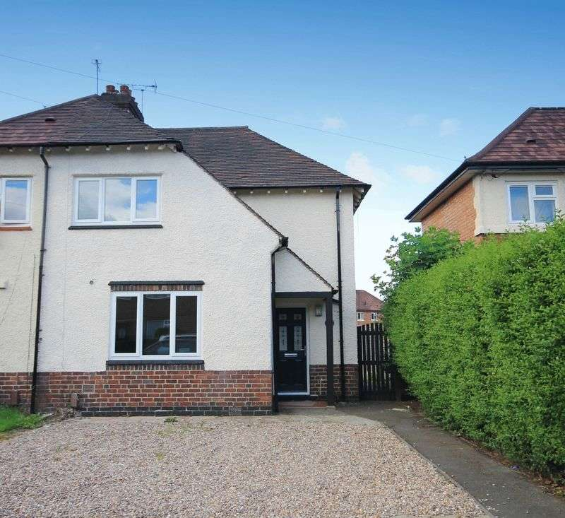 3 Bedrooms Semi Detached House for sale in BENSON STREET, ALVASTON
