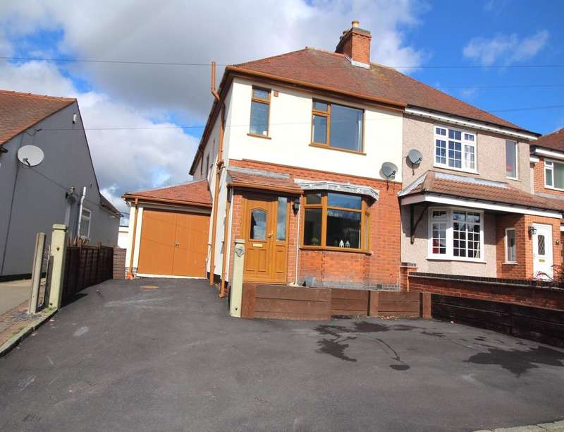 4 Bedrooms Semi Detached House for sale in Bagworth Road, Nailstone, CV13