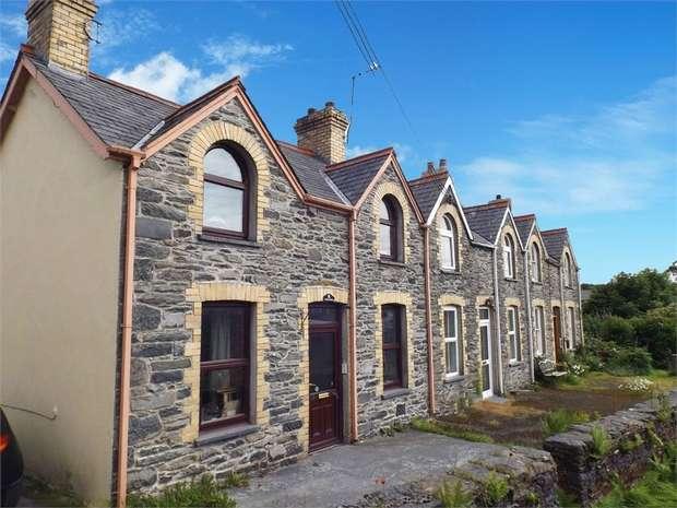 2 Bedrooms End Of Terrace House for sale in Poplar Terrace, Pontrhydfendigaid, Ystrad Meurig, Ceredigion