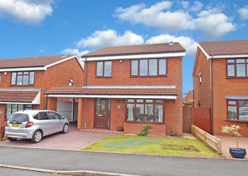 4 Bedrooms Detached House for sale in Wheelwright Close, Stoke Heath. Bromsgrove