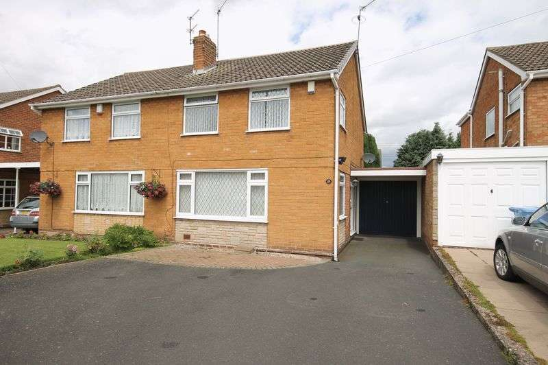 3 Bedrooms Semi Detached House for sale in Wood Avenue, Coven, Wolverhampton