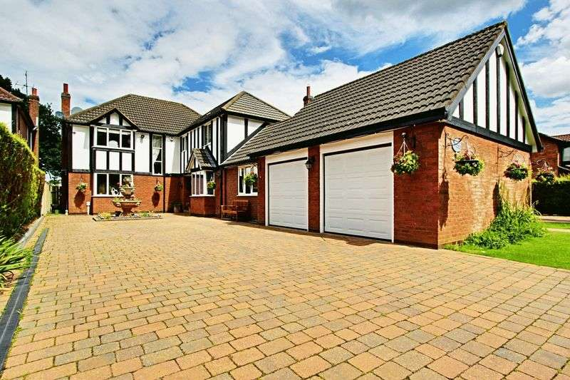 5 Bedrooms Detached House for sale in The Woodlands, Cottingham