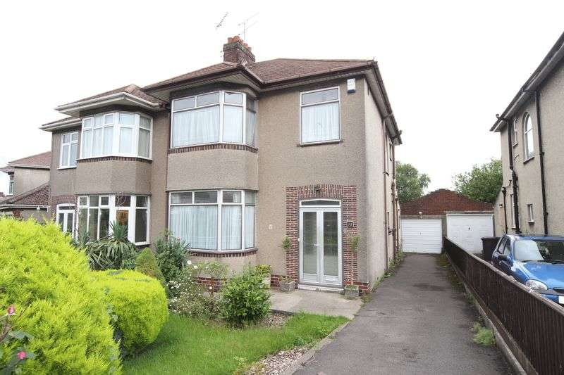 3 Bedrooms Semi Detached House for sale in Badminton Road, Bristol