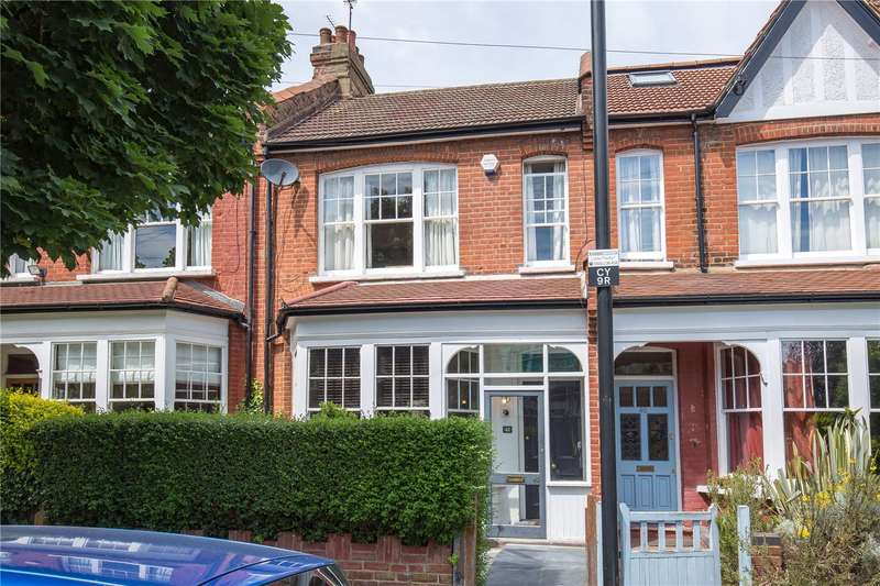 3 Bedrooms Terraced House for sale in Clovelly Road, Crouch End, London, N8