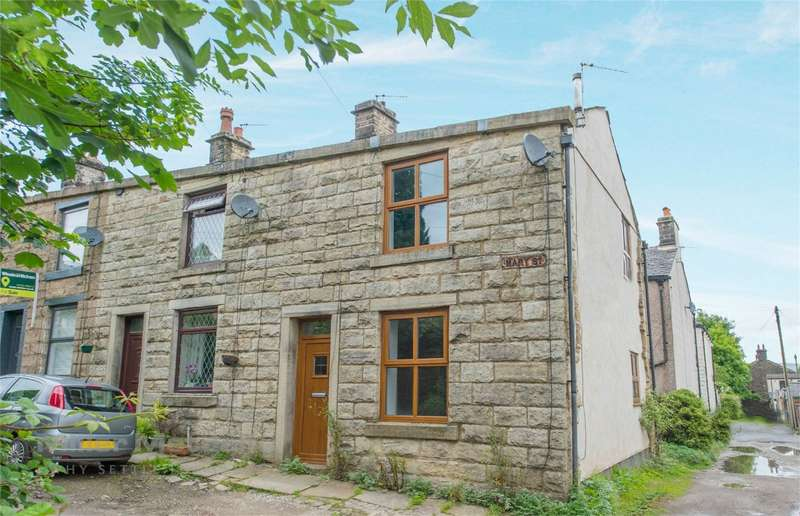 2 Bedrooms End Of Terrace House for sale in Mary Street, Ramsbottom, Bury