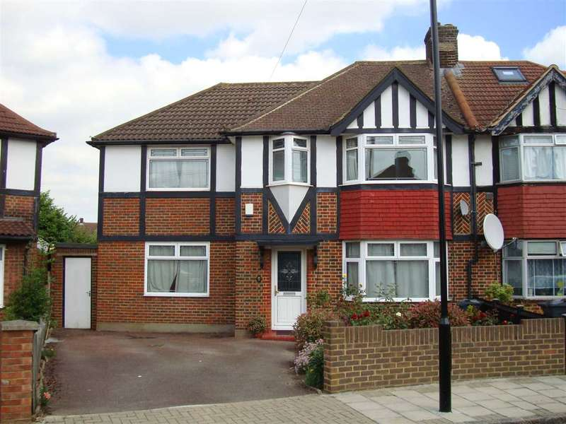 4 Bedrooms Semi Detached House for sale in St Paul's Close, Hounslow West