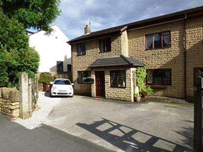 4 Bedrooms Semi Detached House for sale in Lower Lane, Chinley, High Peak, Derbyshire