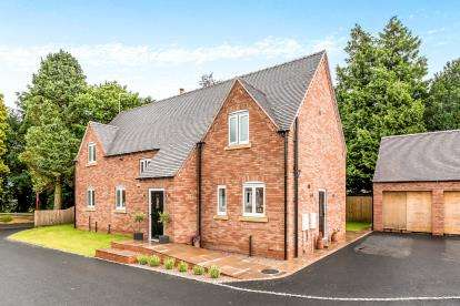 4 Bedrooms Detached House for sale in The Orchard, Abbeylands, Weston, Stafford