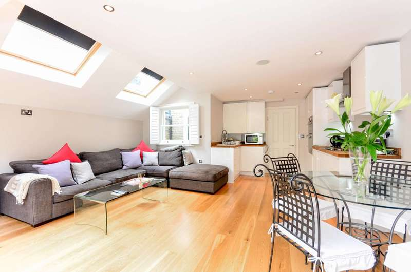 3 Bedrooms Flat for sale in Fulham Palace Road, Fulham, SW6