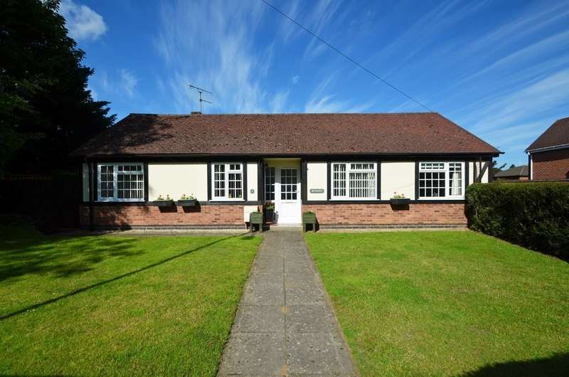 3 Bedrooms Detached Bungalow for sale in Rugby Road, Dunchurch, Rugby