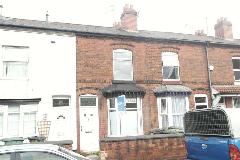 3 Bedrooms Terraced House for sale in Beacon Street, Chuckery, WS1 2DL