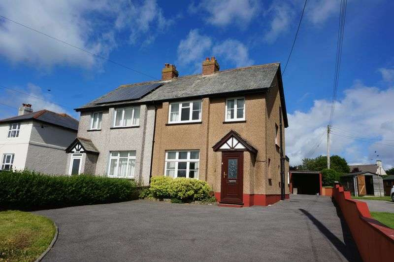 3 Bedrooms Semi Detached House for sale in Kilkhampton, Bude