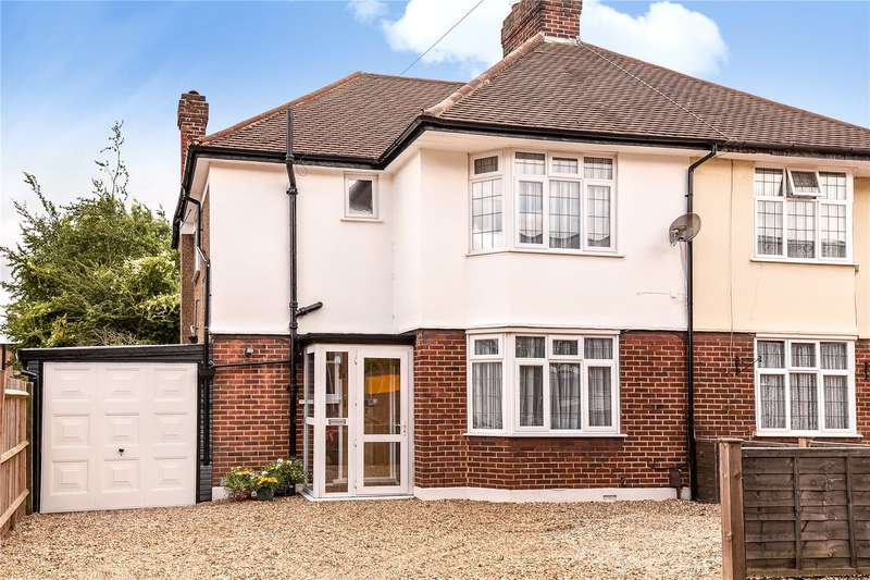 3 Bedrooms Semi Detached House for sale in West Way, Ruislip, Middlesex, HA4