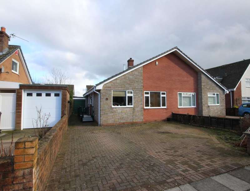 3 Bedrooms Semi Detached Bungalow for sale in Egerton Grove, Carlisle, CA2