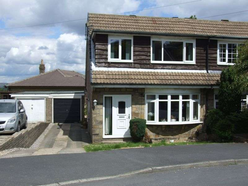 3 Bedrooms Semi Detached House for sale in Foster Park Road, Denholme, Bradford