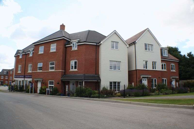 2 Bedrooms Flat for sale in Clover Rise, Reading