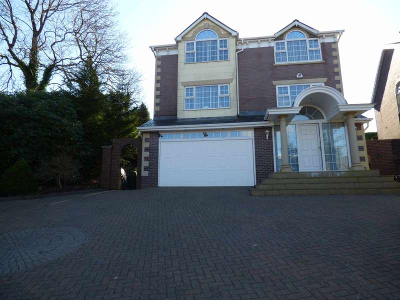 4 Bedrooms Detached House for sale in Woodlea Chase, Darwen, Lancashire, BB3