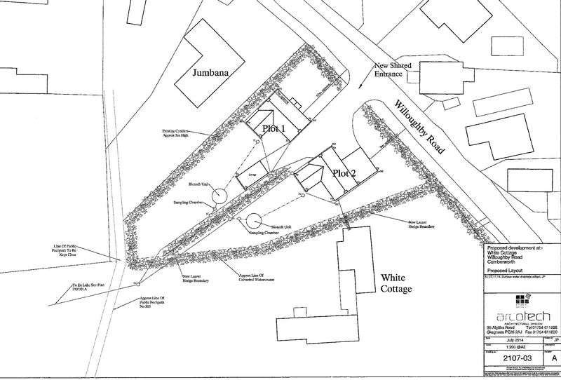 Land Commercial for sale in Plot 2, Willoughby Road, Cumberworth, Near Alford