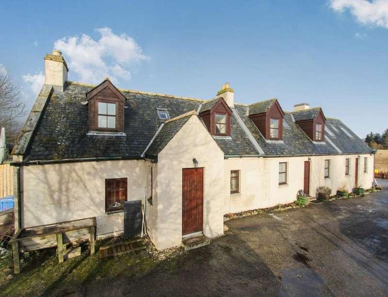 4 Bedrooms Detached House for sale in Alcaig,Conon Bridge, Dingwall, IV7