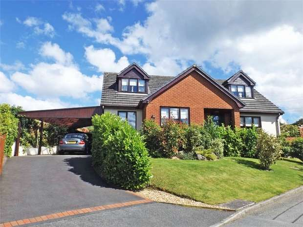 4 Bedrooms Detached House for sale in Maes Y Fedwen, Bryneglwys, Corwen, Denbighshire