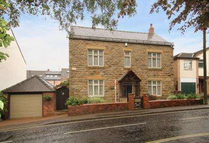 4 Bedrooms Detached House for sale in Green Lane, Dronfield, Derbyshire