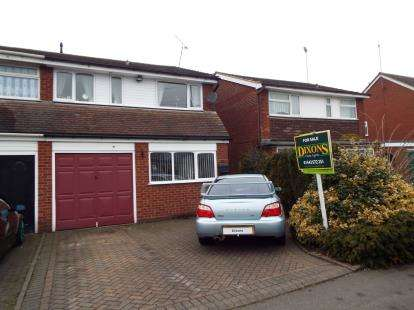 3 Bedrooms Semi Detached House for sale in Devon Road, Cannock, Staffs.