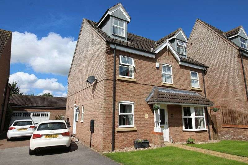6 Bedrooms Detached House for sale in Barn Owl Way, Washingborough, Lincoln, LN4 1BS