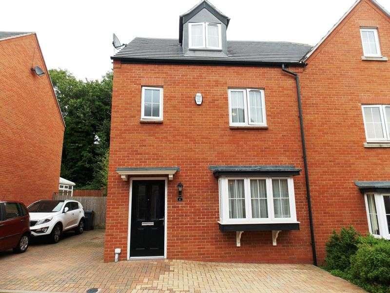 4 Bedrooms Semi Detached House for sale in Kings Lodge, Kings Norton, Birmingham