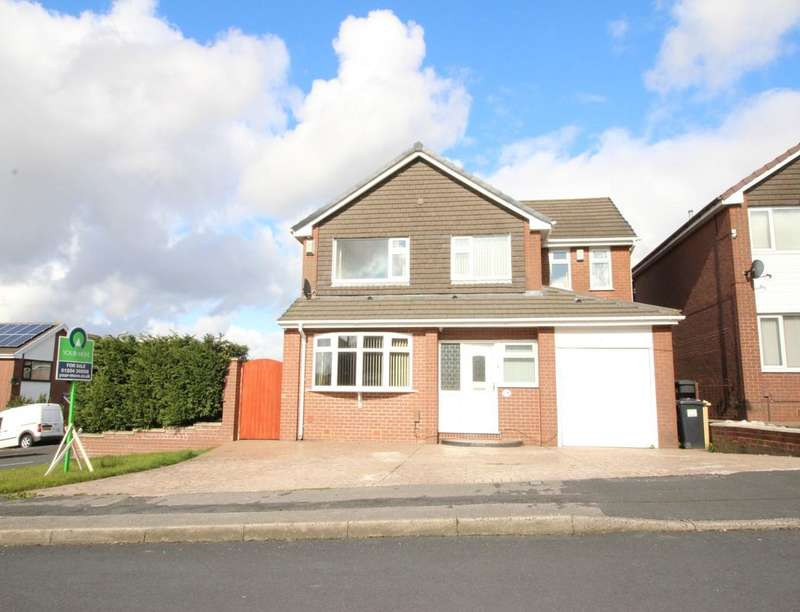 4 Bedrooms Detached House for sale in Crossford Drive, Bolton, BL3