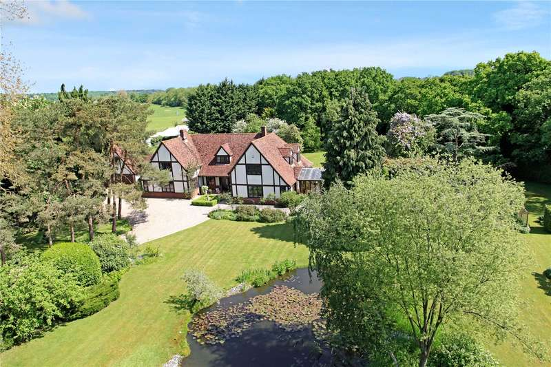 5 Bedrooms Detached House for sale in Padworth Lane, Lower Padworth, Reading, Berkshire, RG7
