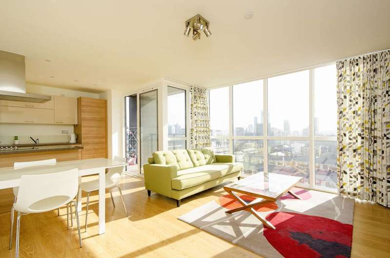 2 Bedrooms Flat for sale in Panoramic Tower, Poplar, E14