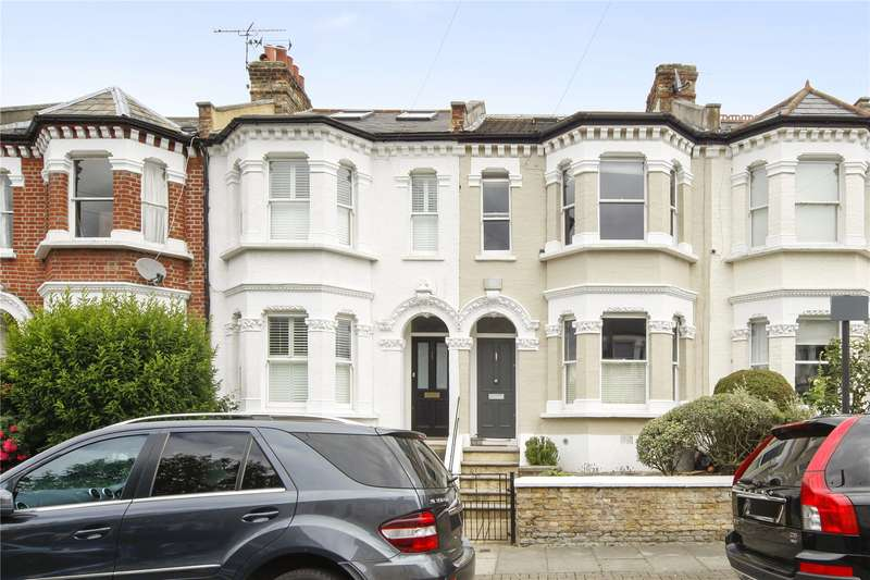 4 Bedrooms Terraced House for sale in Bucharest Road, London, SW18