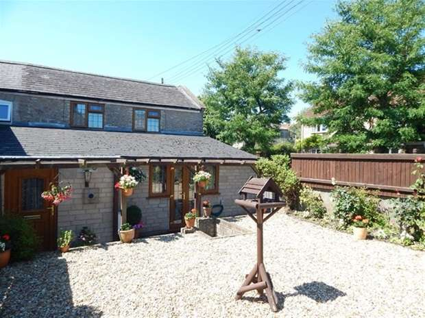 2 Bedrooms Semi Detached House for sale in Granville Cottages, Weston Town, Evercreech