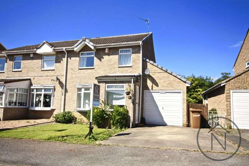 3 Bedrooms Semi Detached House for sale in Zetland Hunt, Newton Aycliffe