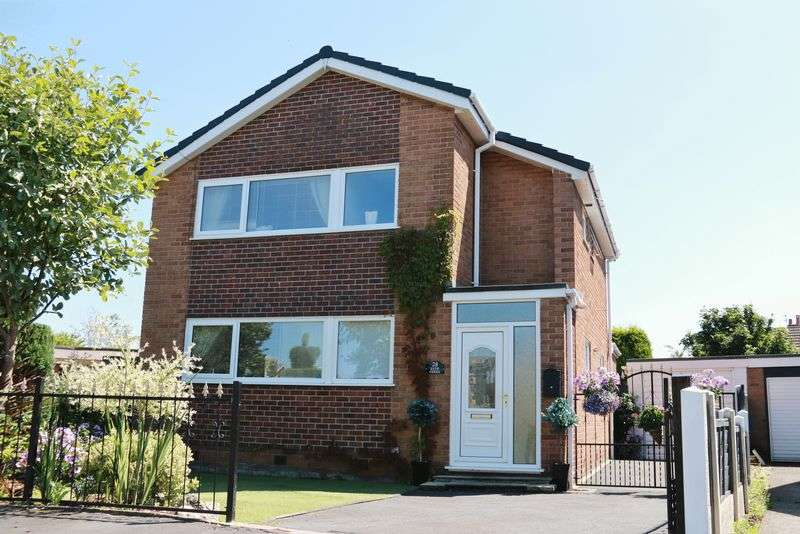 "3 Bedrooms Detached House for sale in ""Ever Green"" 28 Moreton Drive, Staining Village, Lancs, FY3 0DR"