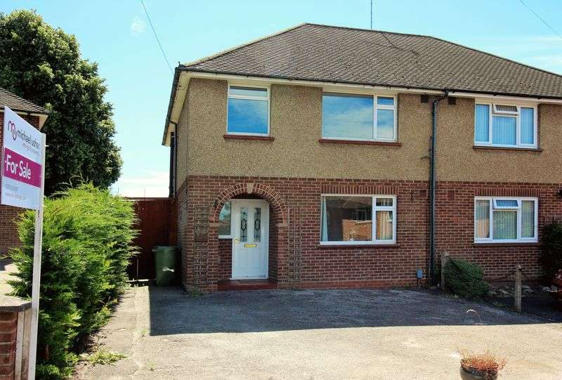 3 Bedrooms Semi Detached House for sale in Worsley Road, Camberley