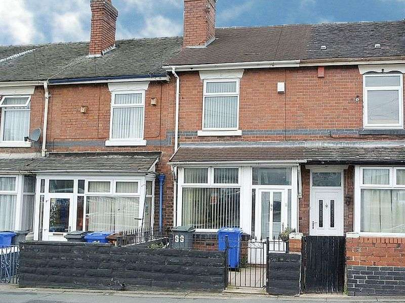 2 Bedrooms Terraced House for sale in Duke Street, Heron Cross, Stoke-On-Trent, ST4 3NR